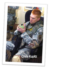 Chris Kupitz, former president of Veterans Club at Vanguard University